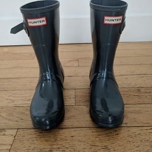 Hunter original short rain boot (7), rarely used